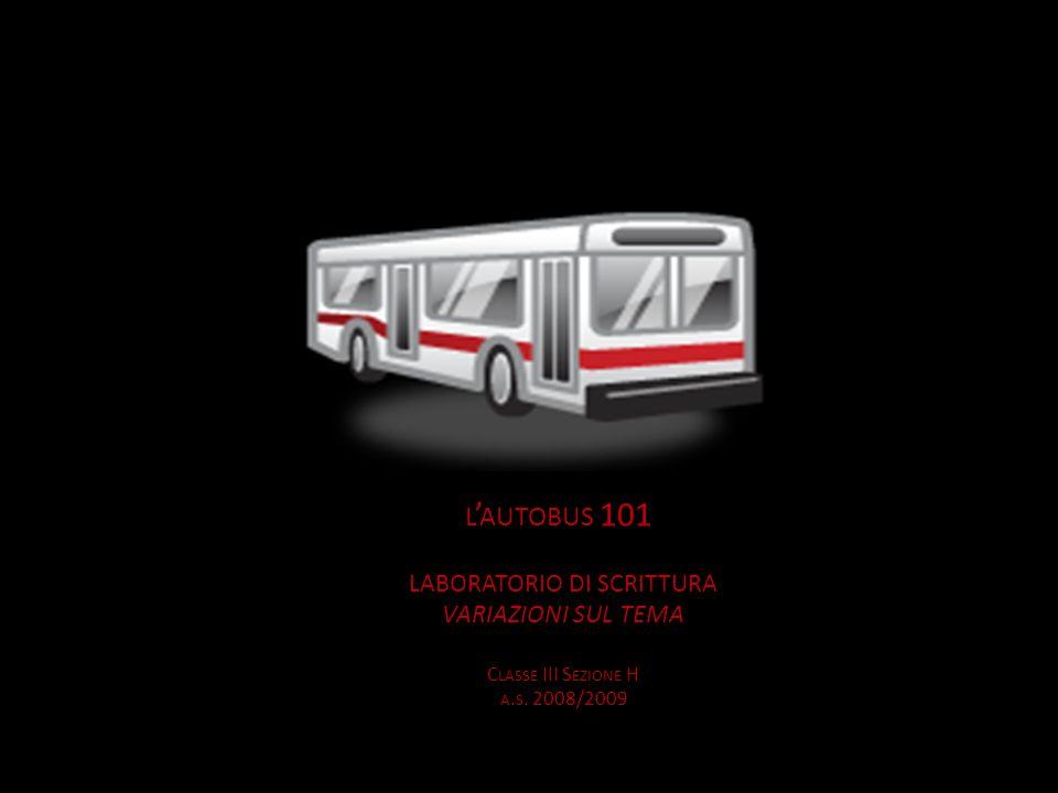 L AUTOBUS 101 Sullautobus 101 allora di traffico.