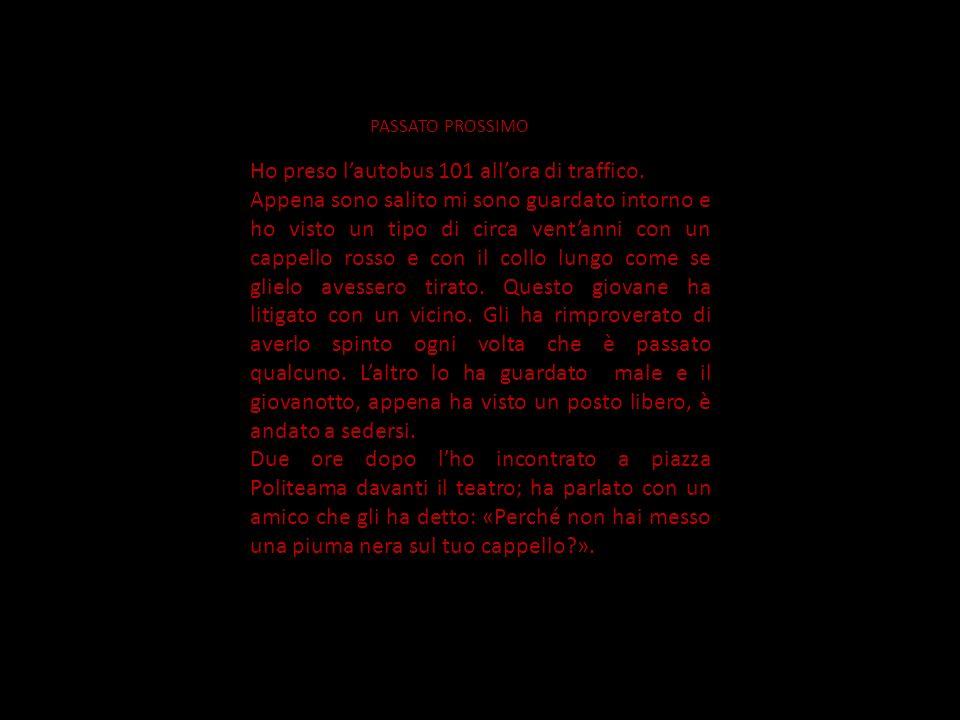 L AUTOBUS 101 LABORATORIO DI SCRITTURA VARIAZIONI SUL TEMA C LASSE III S EZIONE H A. S. 2008/2009