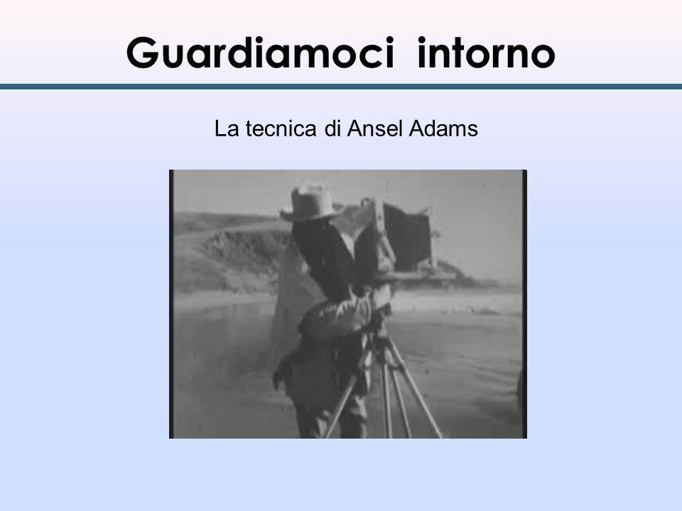 Guardiamoci intorno La tecnica di Ansel Adams