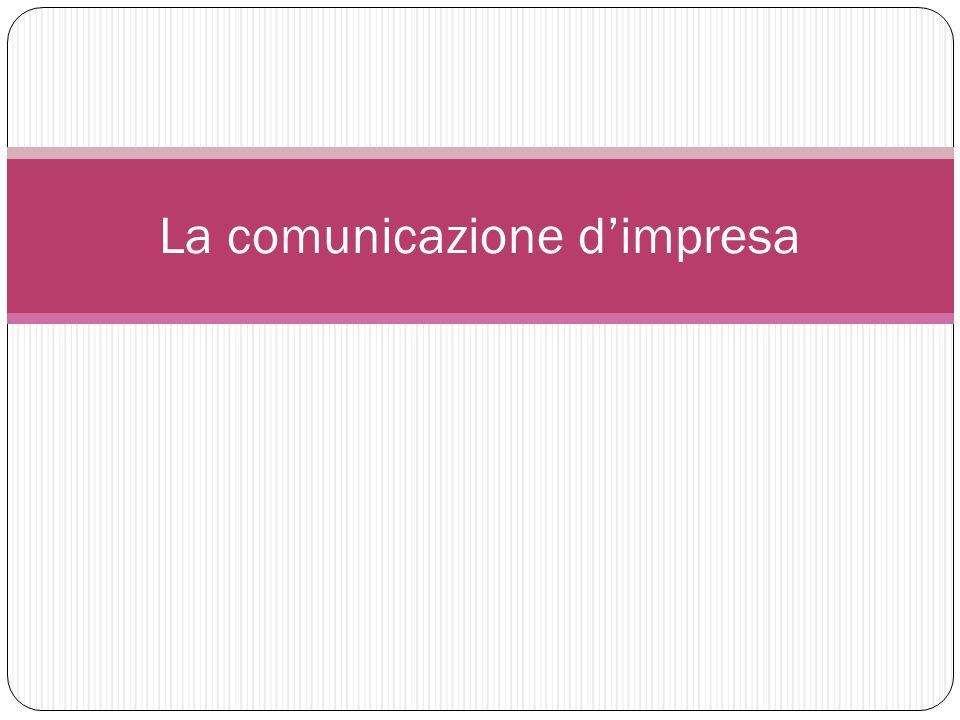 La comunicazione dimpresa