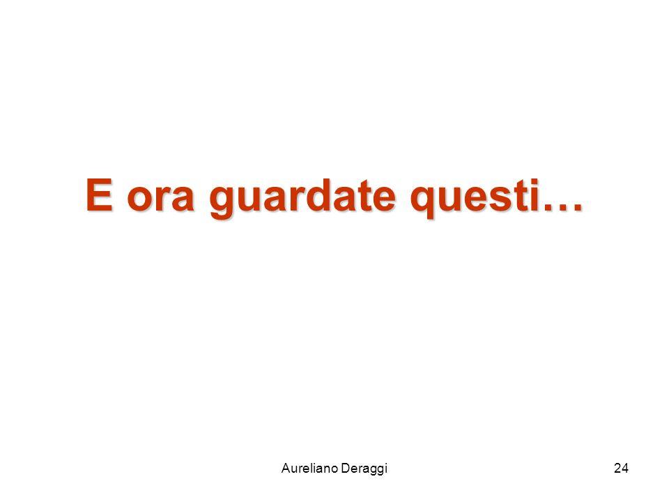 Aureliano Deraggi24 E ora guardate questi…