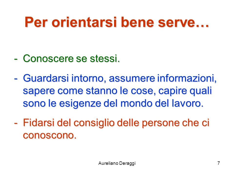 Aureliano Deraggi98 I Licei