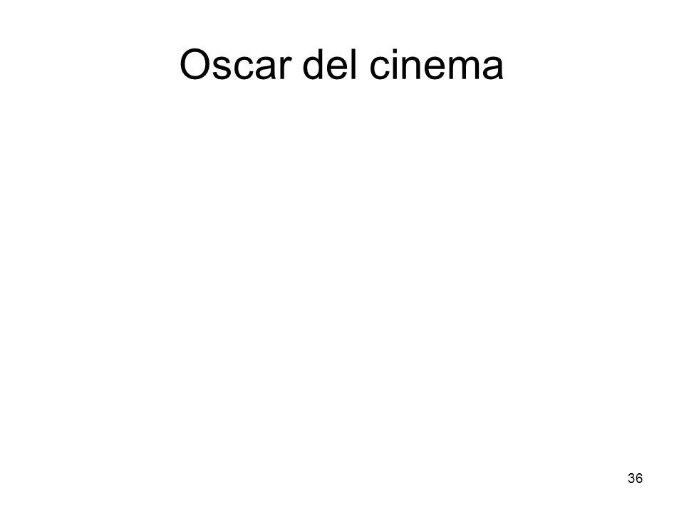 36 Oscar del cinema