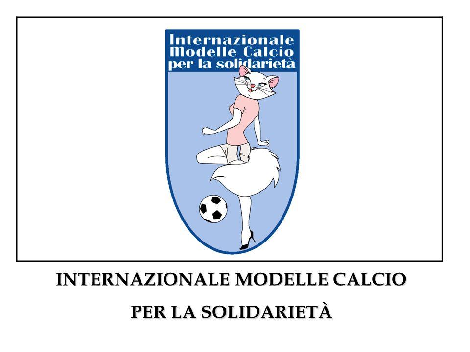 INTERNAZIONALE MODELLE CALCIO PER LA SOLIDARIETÀ