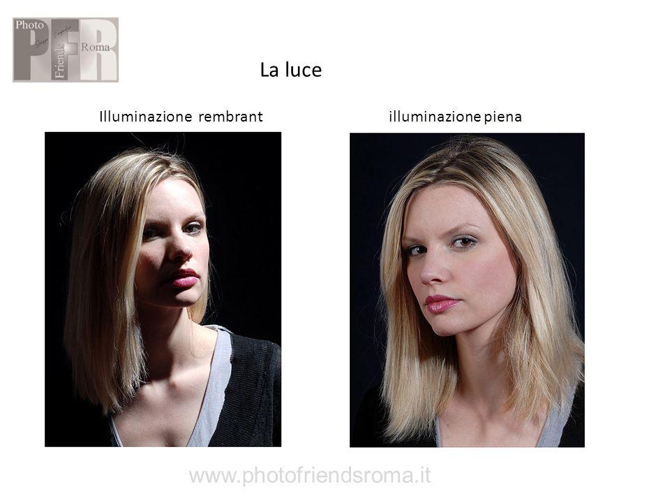 La luce Illuminazione rembrant illuminazione piena www.photofriendsroma.it