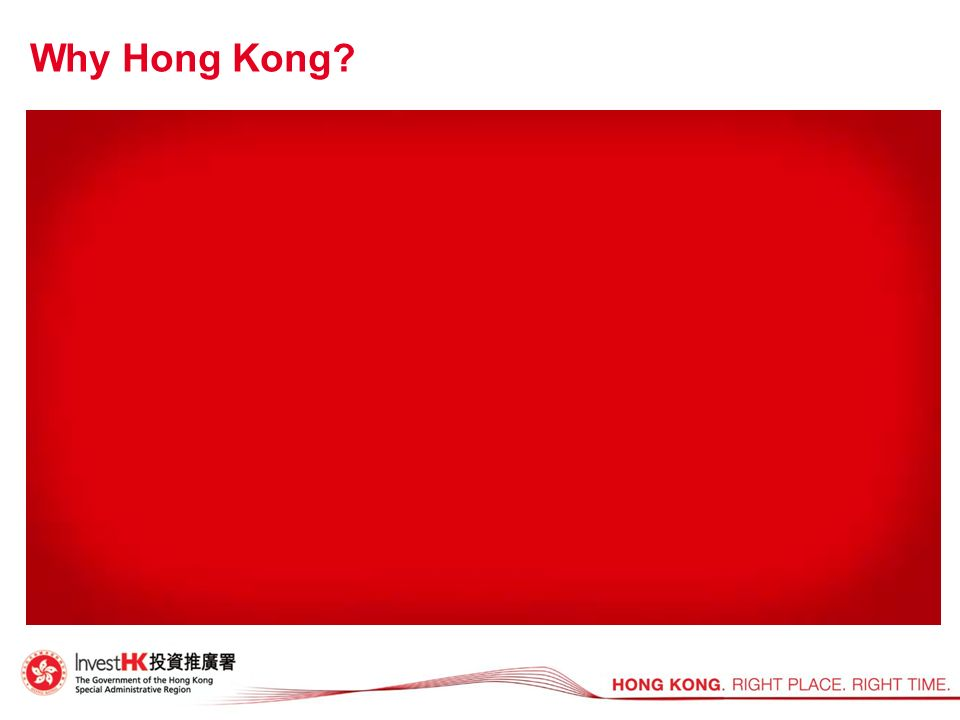 Why Hong Kong