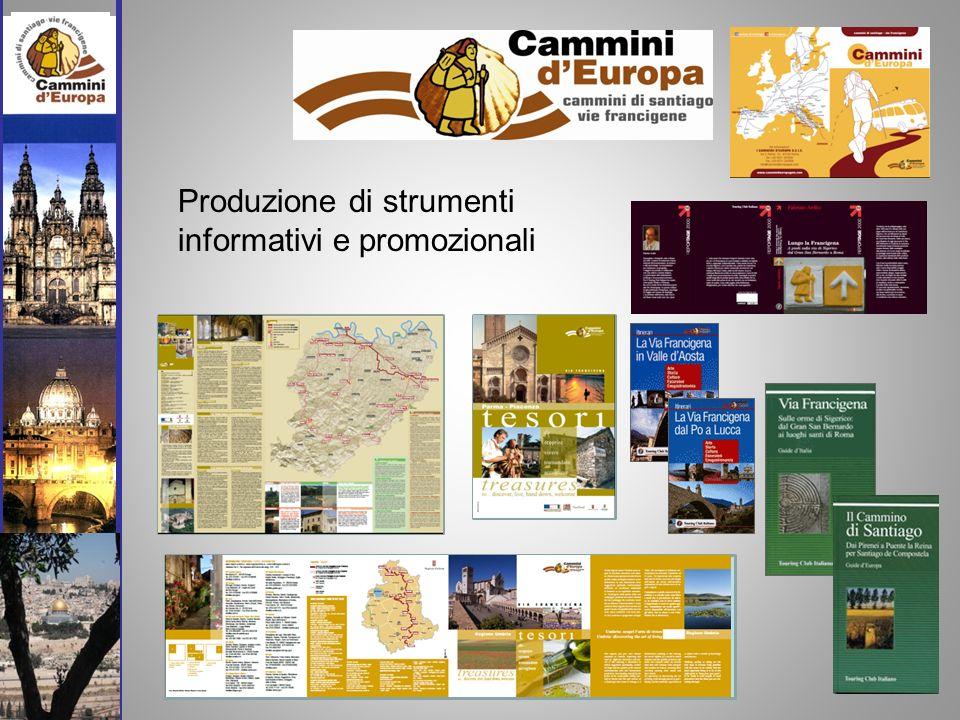 Produzione di strumenti informativi e promozionali