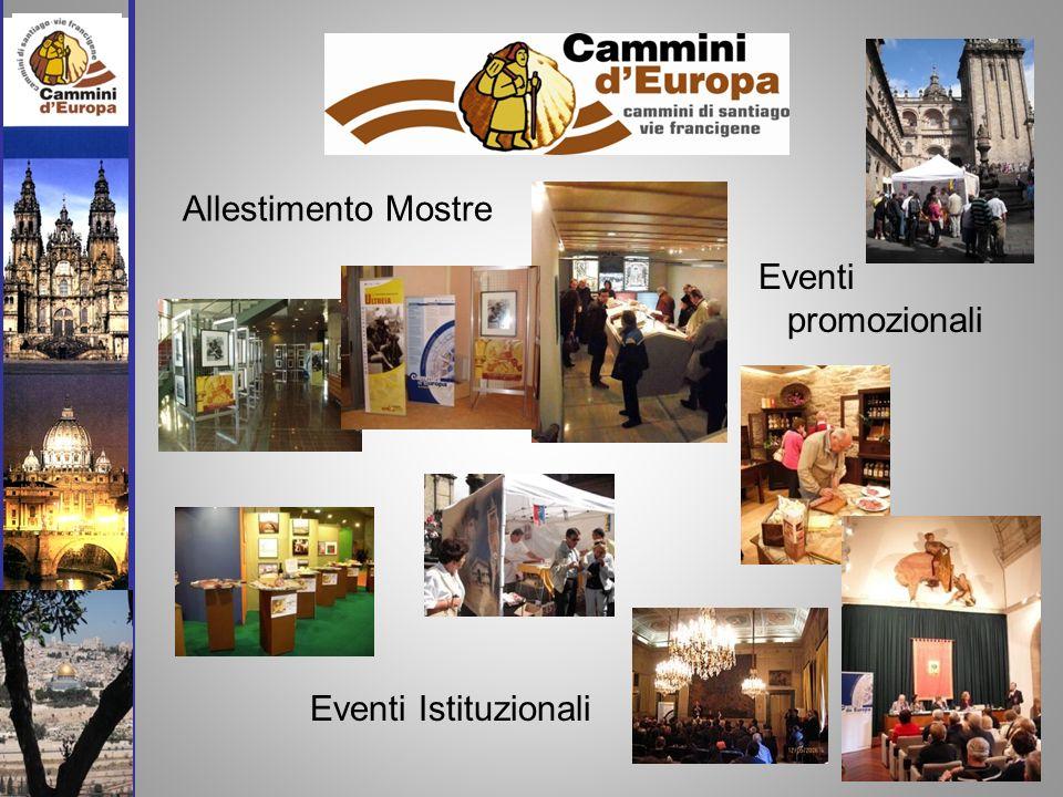 Allestimento Mostre Eventi promozionali Eventi Istituzionali