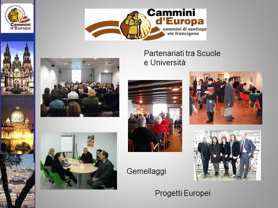 Gemellaggi Partenariati tra Scuole e Università Progetti Europei