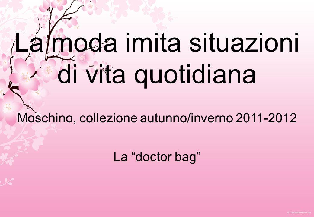 Moschino, collezione autunno/inverno 2011- 2012 Ispirazione: rugby