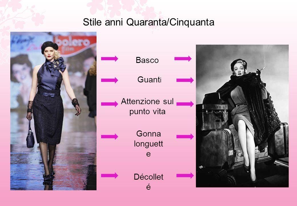 Omaggio a Coco Chanel Riportò in auge, nel 1954, un capo classico del guardaroba femminile, il tailleur Tessuto Tweed Maniche a tre quarti Gonna longuette Giacca stile cardigan