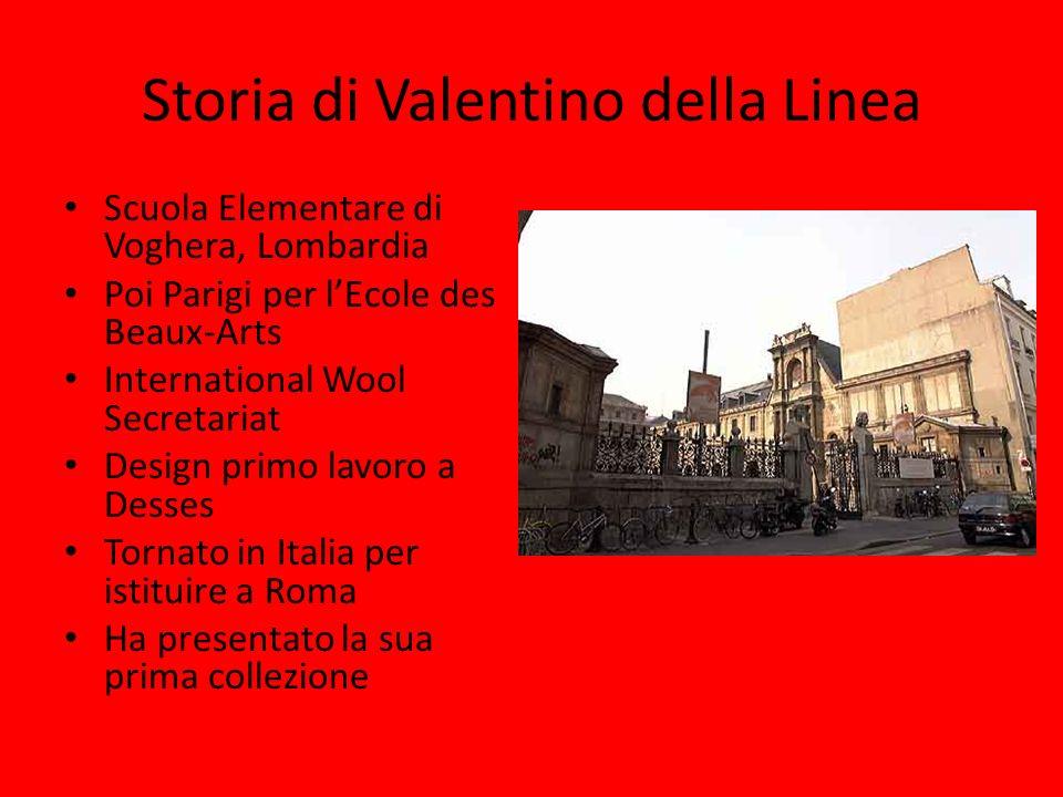 Storia di Valentino della Linea Valentino Red I vestiti sono fatti per la celebrazione della figura di donna La Dolce Vita e Anita Ekberg Successo internazionale a Firenze Neiman Marcus premio, prima linea di pronto moda, boutique a Roma e New York