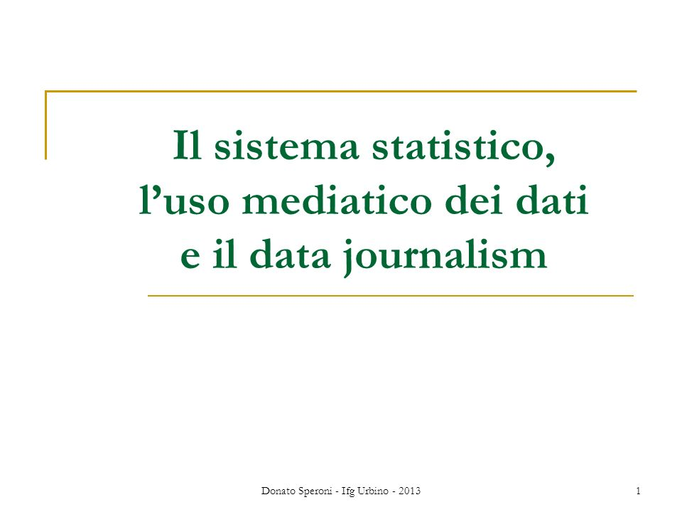 Data journalism non sempre è open data Lesempio delle Olimpiadi 2012: The key results data is locked up in lucrative deals between the International Olympic Committee and major news organisations.