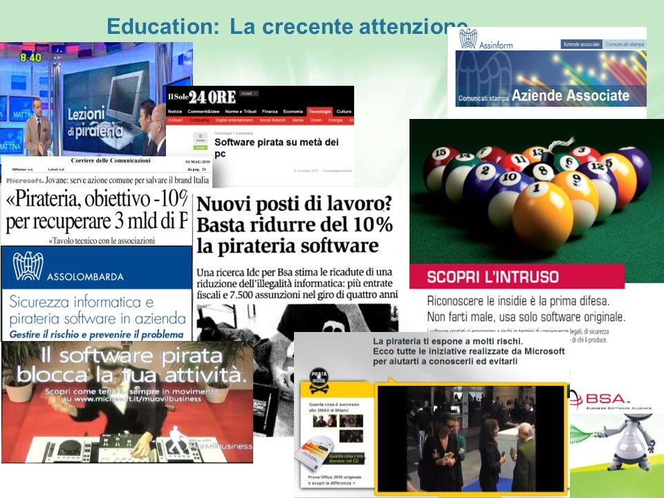 Education: La crecente attenzione