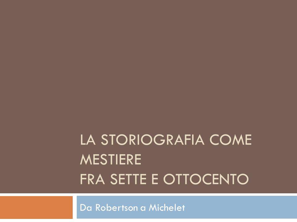 Michelet scrittore romantico Grande storico, ma anche grande scrittore romantico, Michelet è un sapiente costruttore di miti e di atmosfere.