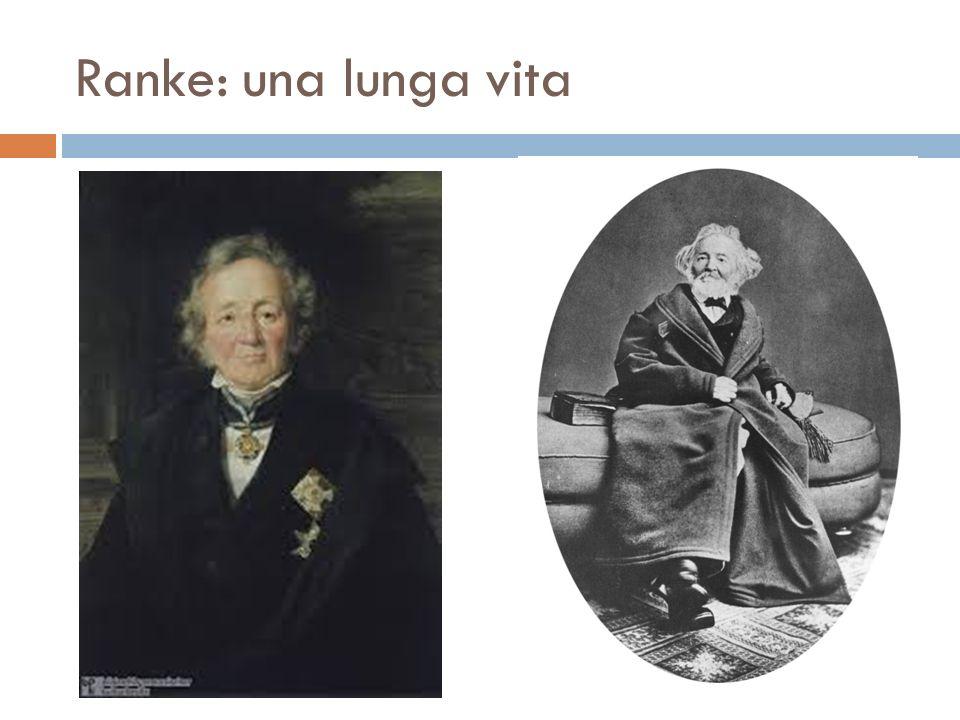 Ranke: una lunga vita