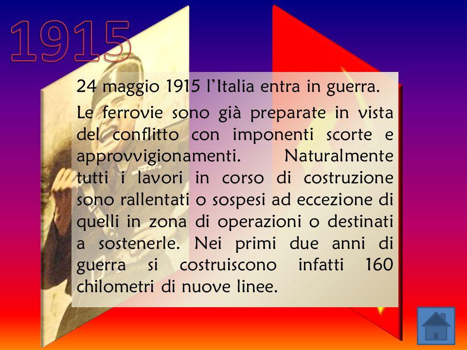 24 maggio 1915 lItalia entra in guerra.