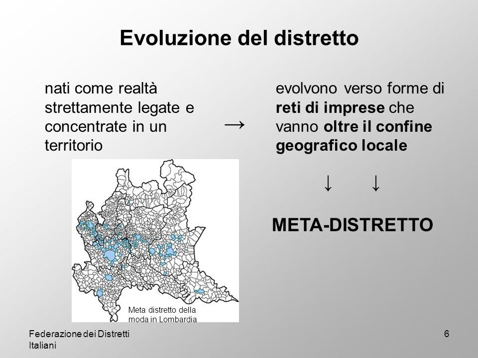 La Federazione dei Distretti Italiani