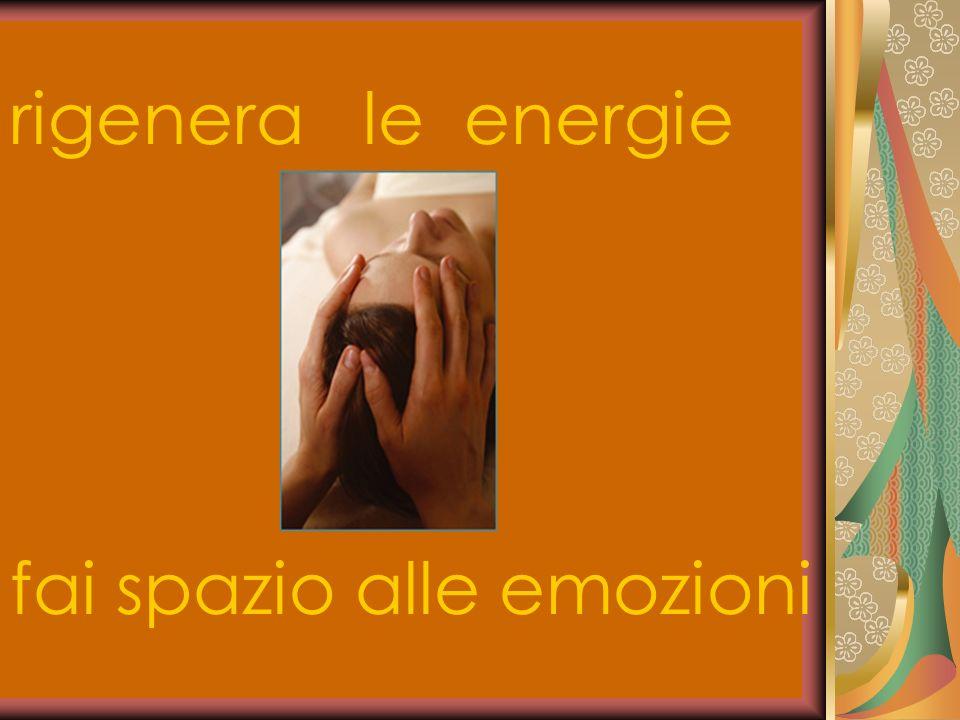 rigenera le energie fai spazio alle emozioni