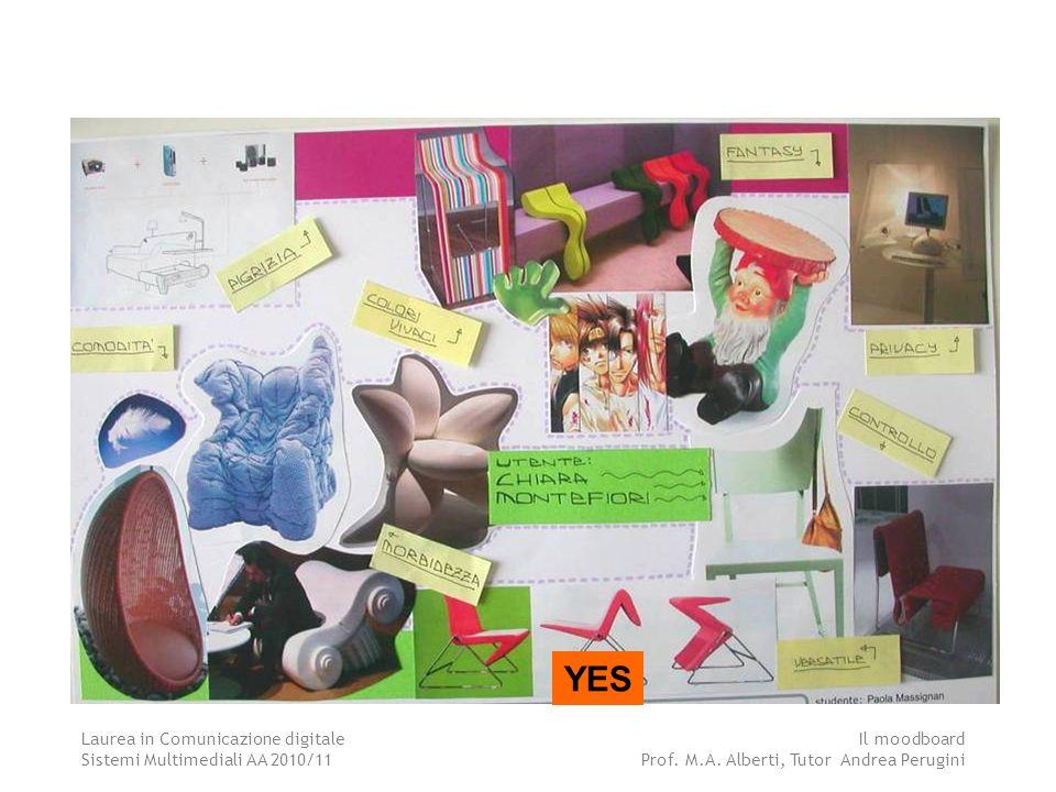 Laurea in Comunicazione digitale Sistemi Multimediali AA 2010/11 Il moodboard Prof.