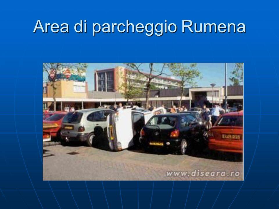 Area di parcheggio Rumena