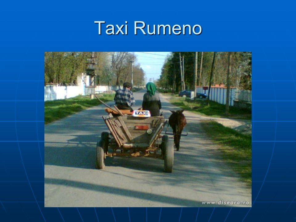 Taxi Rumeno