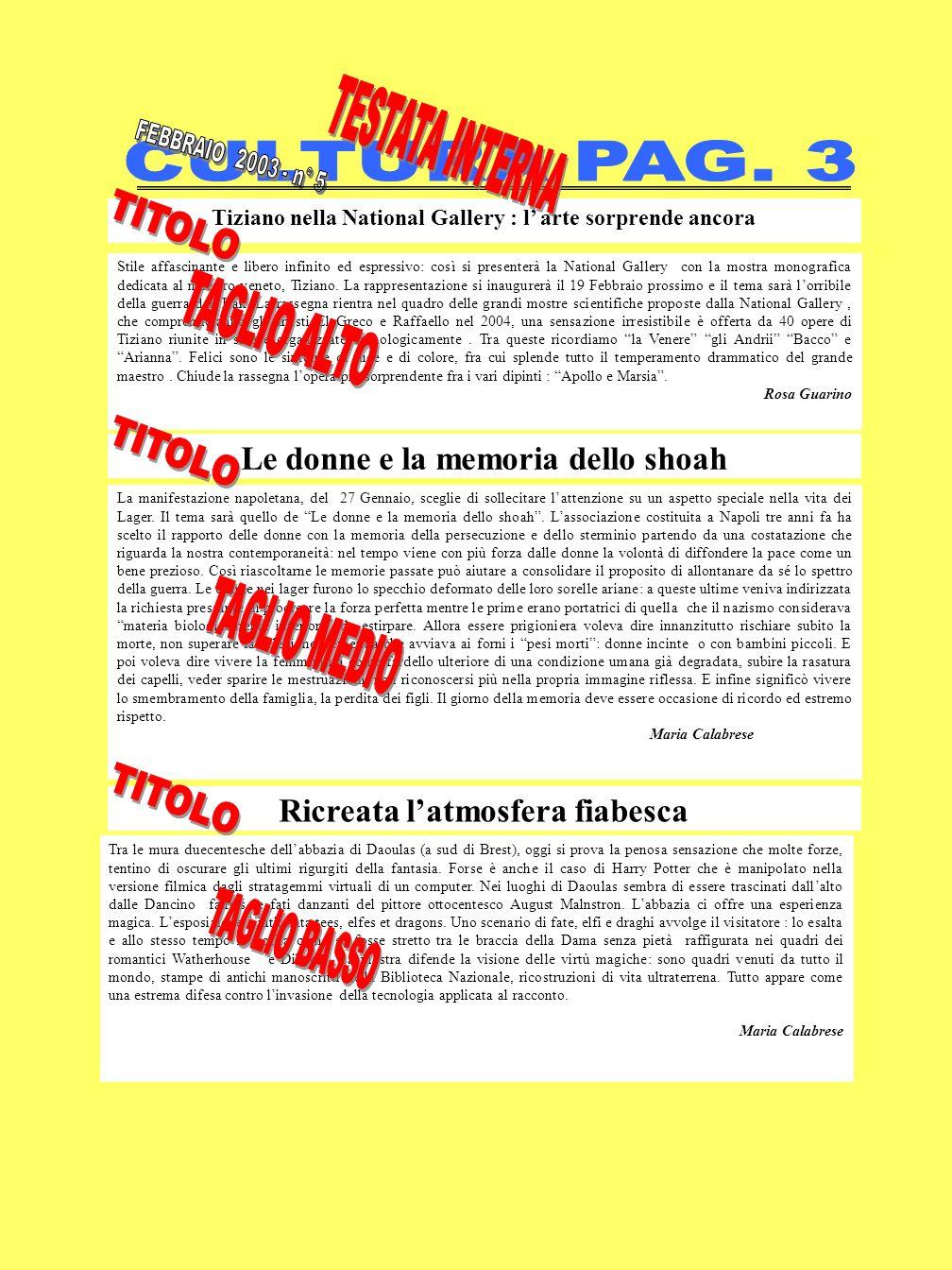 Tiziano nella National Gallery : l arte sorprende ancora Stile affascinante e libero infinito ed espressivo: così si presenterà la National Gallery con la mostra monografica dedicata al maestro veneto, Tiziano.