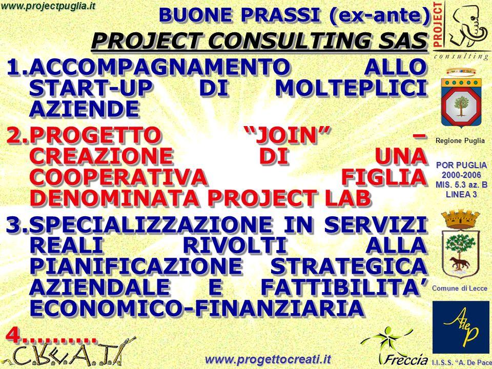 Regione Puglia POR PUGLIA 2000-2006 MIS.5.3 az. B LINEA 3 Comune di Lecce I.I.S.S.