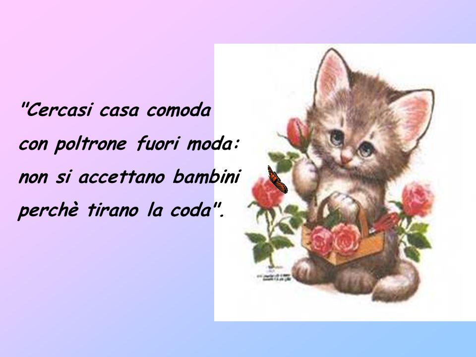 Il giornale dei gatti - Gianni Rodari I gatti hanno un giornale con tutte le novità e sull'ultima pagina la