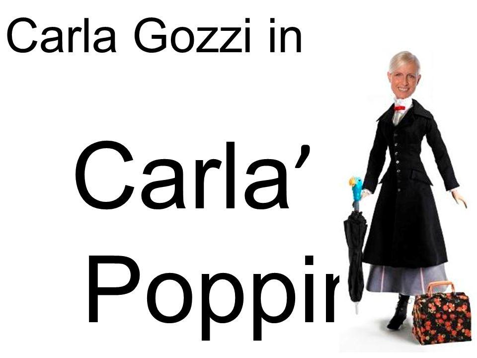 E giunta ora di tornare a casa… Carlà Poppins è proprio soddisfatta del suo lavoro, i marmocchi sembrano felici e la sua padrona è vestita proprio chiccosamente.