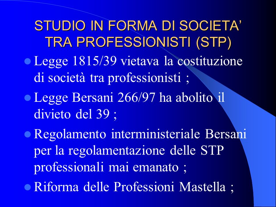 STUDIO DI INGEGNERIA RAGGRUPPAMENTO TEMPORANEO TRA PROFESSIONISTI (RTP) Art 17 1 comma lettera g) Legge 109/94 (art. 13 ATI) raggruppamenti temporanei