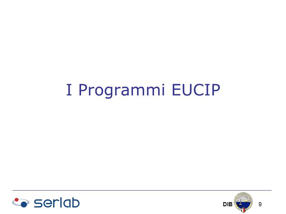 DIB 9 I Programmi EUCIP
