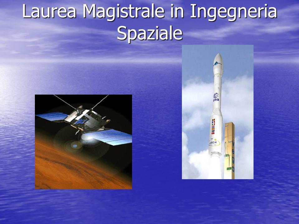 Laurea Magistrale in Ingegneria Spaziale