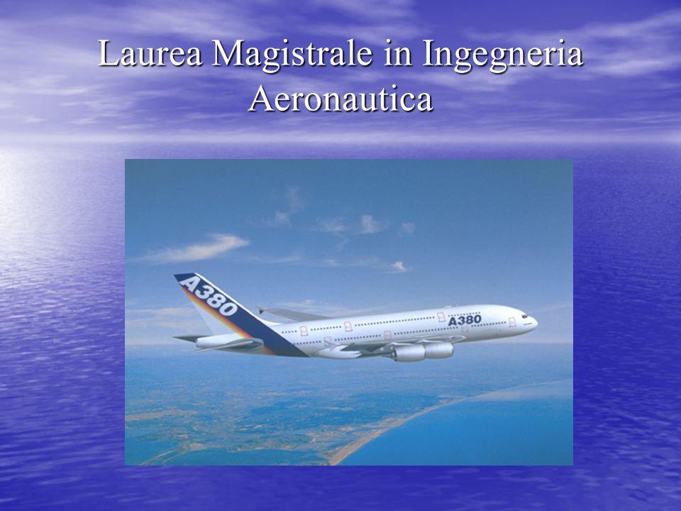 Laurea Magistrale in Ingegneria Aeronautica