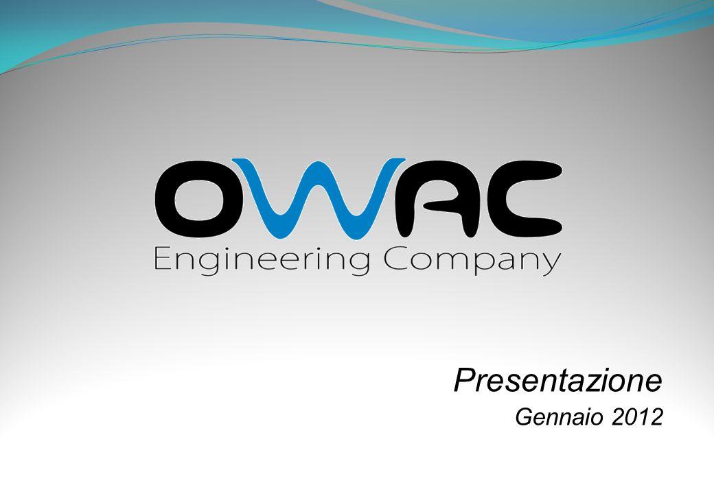 12 LAVORI REALIZZATI* * Dalla società ovvero, anche singolarmente, dai componenti della OWAC s.r.l.