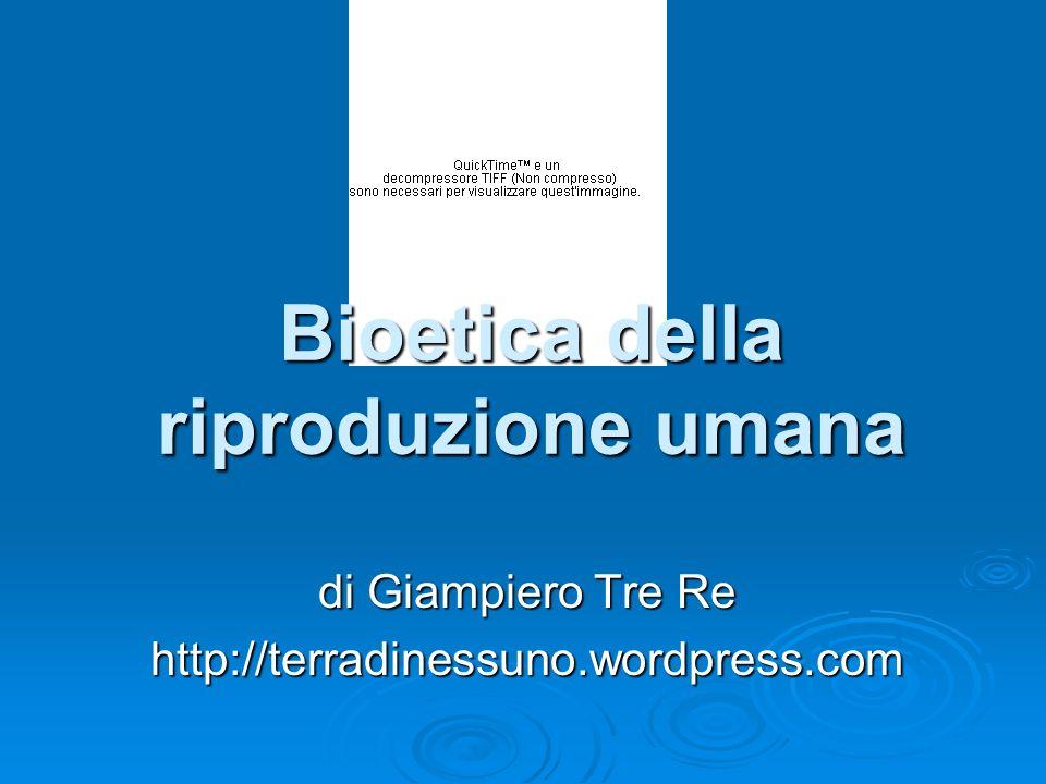 le principali questioni bioetiche la questione dell identità e dello statuto dell embrione umano.