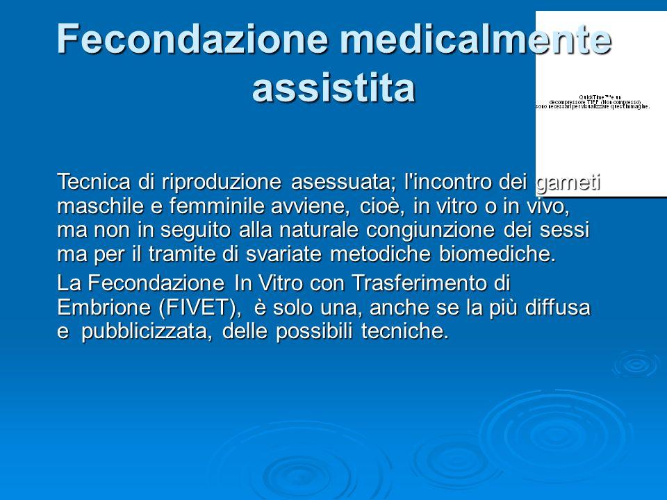 argomenti principali Fecondazione assistita Fecondazione assistita Ingegneria genetica e clonazione Ingegneria genetica e clonazione Ricerca e impiego