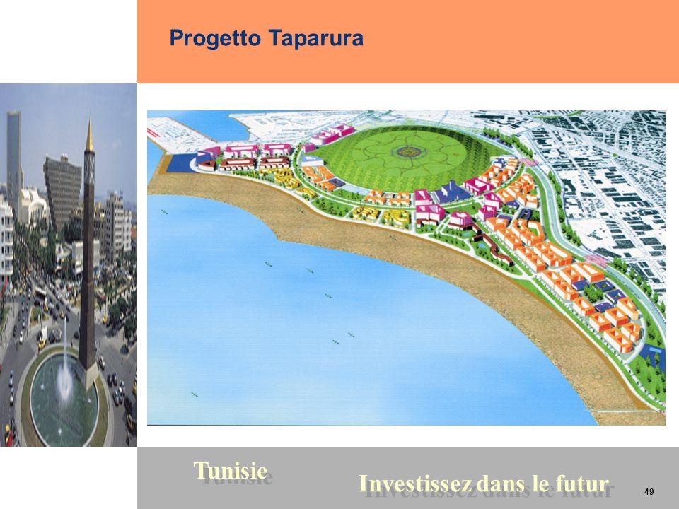 49 Tunisie Investissez dans le futur 49 Progetto Taparura