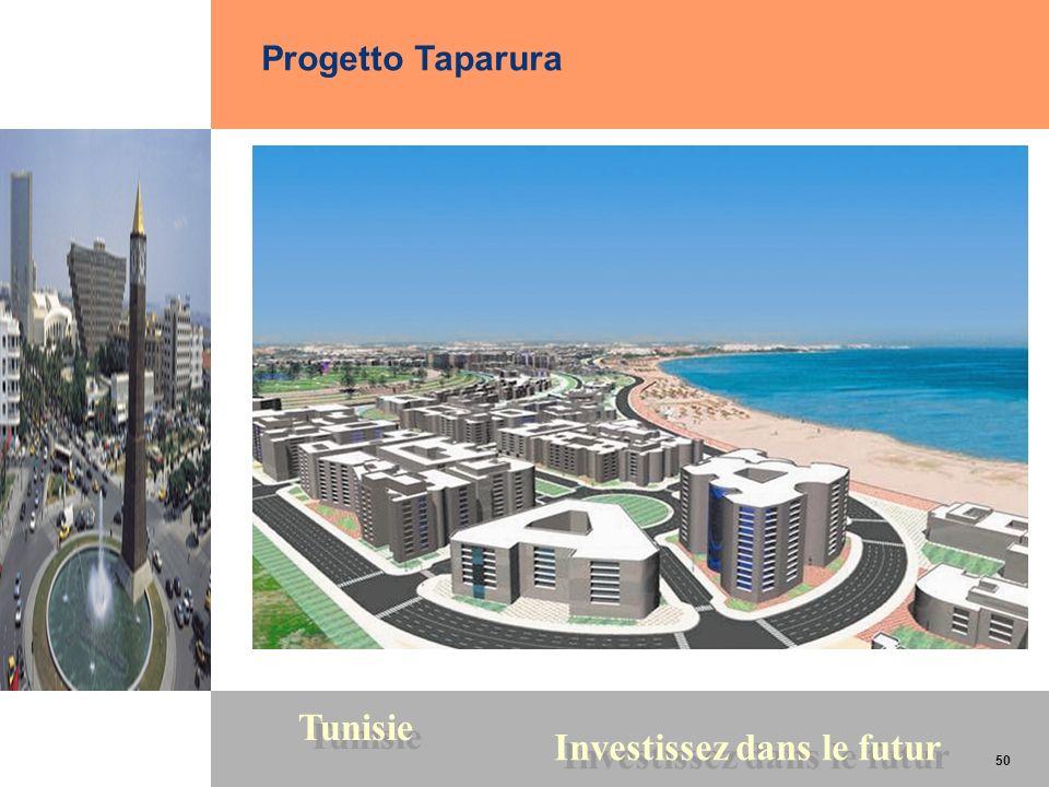 50 Tunisie Investissez dans le futur 50 Progetto Taparura