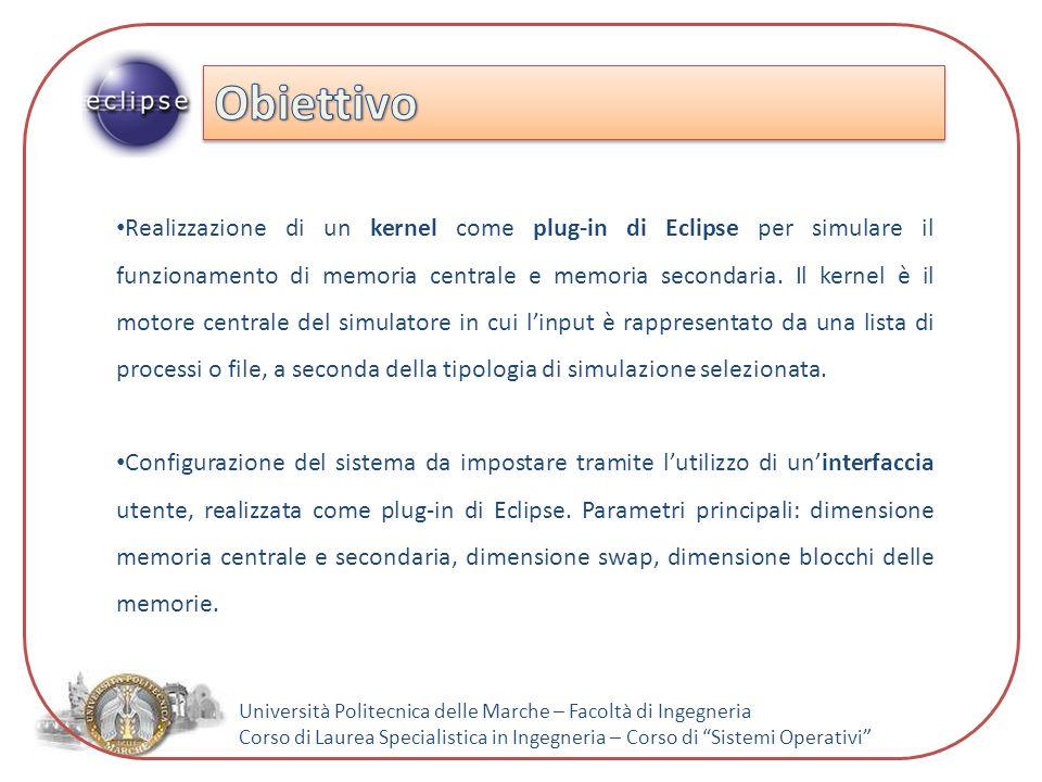 Università Politecnica delle Marche – Facoltà di Ingegneria Corso di Laurea Specialistica in Ingegneria – Corso di Sistemi Operativi Diagramma delle sequenze – Memoria secondaria
