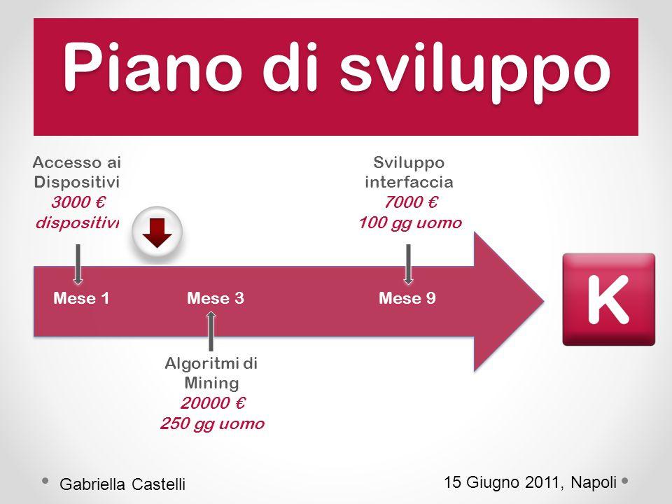 15 Giugno 2011, Napoli Gabriella Castelli Domande ?