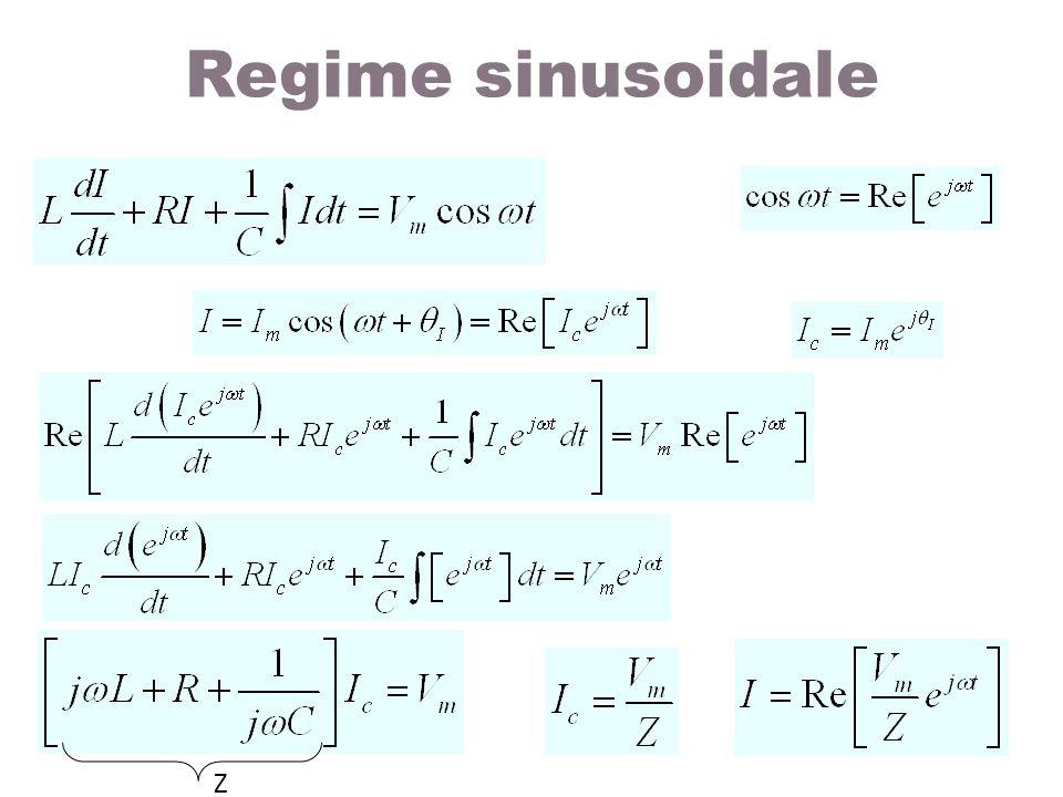 Regime sinusoidale Z