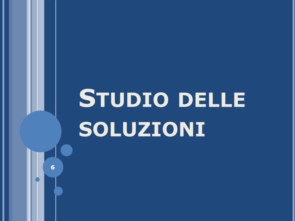 S TUDIO DELLE SOLUZIONI 6