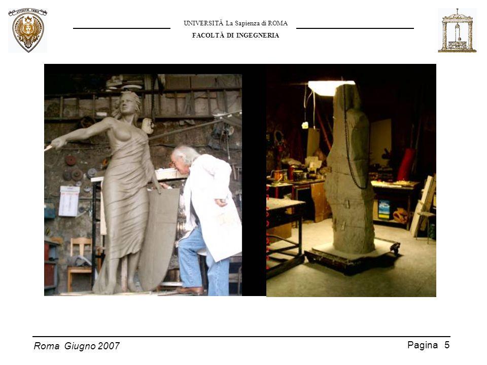 Roma Giugno 2007 UNIVERSITĂ La Sapienza di ROMA FACOLTĂ DI INGEGNERIA Pagina 16