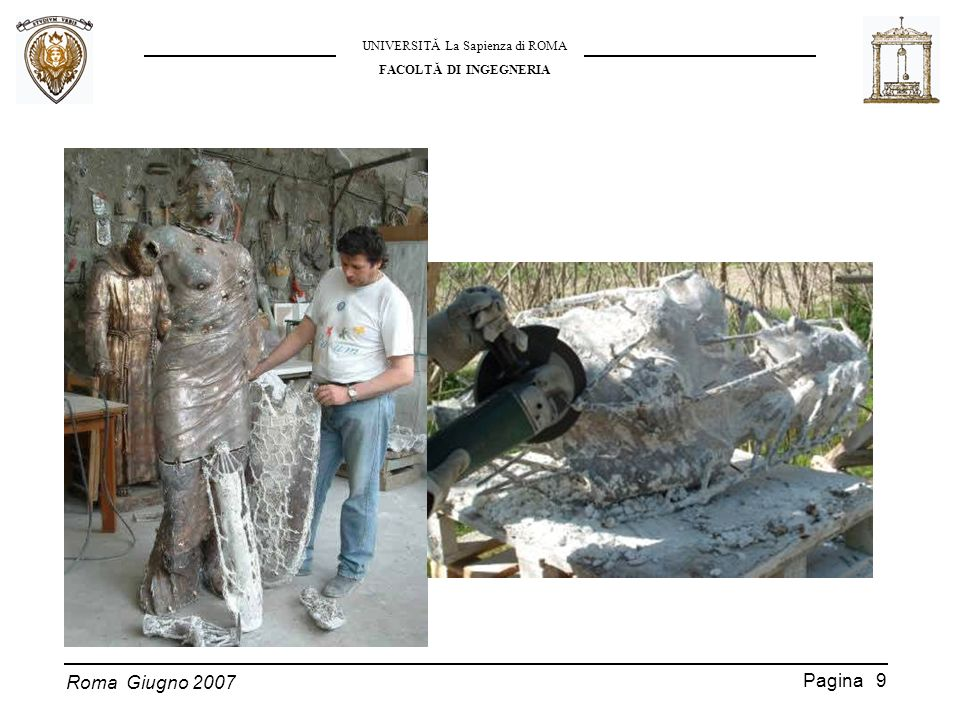 Roma Giugno 2007 UNIVERSITĂ La Sapienza di ROMA FACOLTĂ DI INGEGNERIA Pagina 10