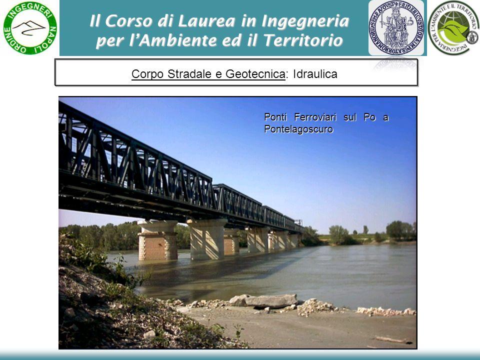Ponti Ferroviari sul Po a Pontelagoscuro Corpo Stradale e Geotecnica: Idraulica
