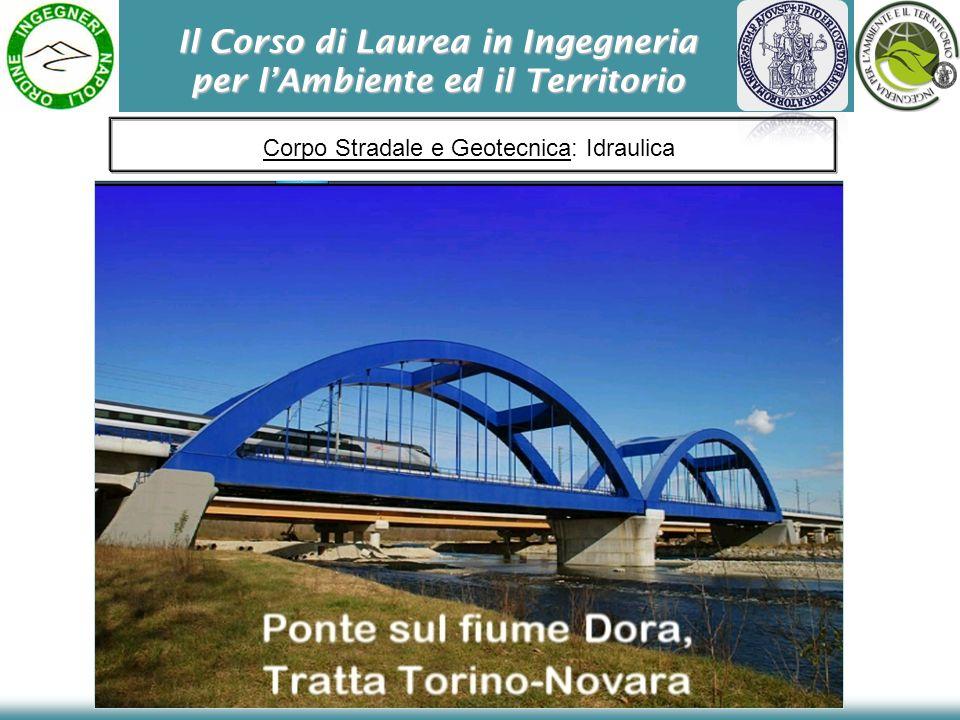 Il Corso di Laurea in Ingegneria per lAmbiente ed il Territorio Corpo Stradale e Geotecnica: Idraulica