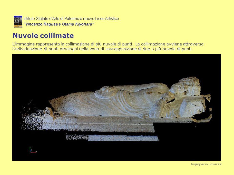 Istituto Statale d'Arte di Palermo e nuovo Liceo Artistico Vincenzo Ragusa e Otama Kiyohara Nuvole collimate Limmagine rappresenta la collimazione di