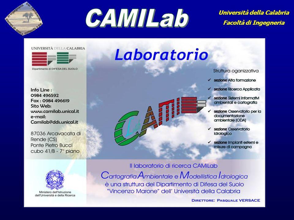 Università della Calabria Facoltà di Ingegneria