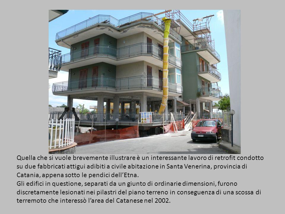 Quella che si vuole brevemente illustrare è un interessante lavoro di retrofit condotto su due fabbricati attigui adibiti a civile abitazione in Santa Venerina, provincia di Catania, appena sotto le pendici dellEtna.